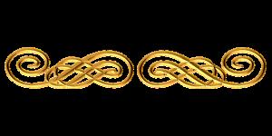 gold link break floursh