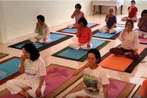 yoga asana course